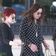 Sharon et Ozzy Osbourne font du shopping chez Barneys New York à Beverly Hills le 24 juillet 2016
