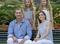 Letizia, Felipe, Leonor et Sofia d'Espagne : L'adorable famille pose à Marivent