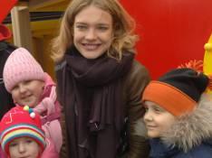 REPORTAGE PHOTOS : Natalia Vodianova, une beauté au top avec les enfants malades...