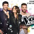 """Jenifer, Patrick Fiori et Jenifer de retour dans """"The Voice Kids 3"""", à partir du 27 août 2016, sur TF1"""