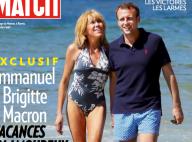 Emmanuel Macron et Brigitte : Plage, soleil, en marche pour les vacances !