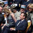 Emmanuel Macron et sa femme Brigitte Trogneux - Emmanuel Macron, Ministre de l'économie, de l'industrie et du numérique était l'invité d'honneur des fêtes de Jeanne d'Arc à Orléans le 8 mai 2016. © Dominique Jacovides/Bestimage