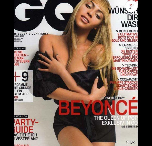 Beyoncé Knowles dans GQ