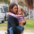 Jessica Alba et sa fille Haven à Los Angeles, le 25 mai 2016