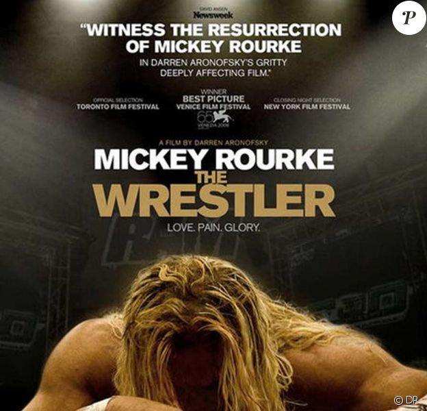 Affiche de the Wrestler