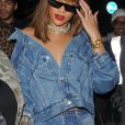 Rihanna au Tape Nightclub à Londres le 20 août 2016.