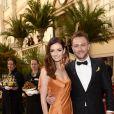 Lydia Hearst et Chris Hardwick lors du Life Ball 2015 à Vienne, le 16 mai 2015