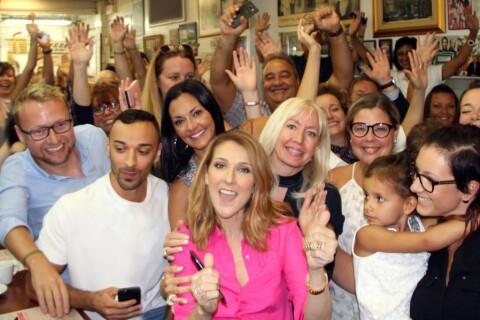 Céline Dion paye l'addition pour tous les clients de son restaurant !
