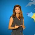 Chloé Nabédian, nouveau visage de la météo de France 2, le 29 août 2016.