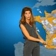 Chloé Nabédian, nouvelle Miss météo de France 2, le 29 août 2016.