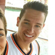Photo Instagram des vacances de Florian Thauvin et Charlotte Pirroni en juin 2016. Au programme : New York, Miami et le Mexique... with love.