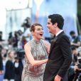 """Emma Stone et Damien Chazelle - Première de """"La La Land"""" et cérémonie d'ouverture du 73ème festival du film de Venise (Mostra) le 31 août 2016."""