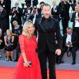 """Francesco Facchinetti et sa femme Wilma - Première de """"La La Land"""" et cérémonie d'ouverture du 73ème festival du film de Venise (Mostra) le 31 août 2016."""