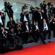"""Sonia Bergamasco - Première de """"La La Land"""" et cérémonie d'ouverture du 73ème festival du film de Venise (Mostra) le 31 août 2016."""