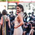 """Barbara Palvin à la première de """"La La Land"""" à la cérémonie d'ouverture du 73ème Festival du Film de Venise. Italie, le 31 août 2016."""