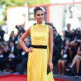 """Anna Safroncik à la première de """"La La Land"""" à la cérémonie d'ouverture du 73ème Festival du Film de Venise. Italie, le 31 août 2016."""