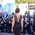 """Cristiana Capotondi à la première de """"La La Land"""" à la cérémonie d'ouverture du 73ème Festival du Film de Venise. Italie, le 31 août 2016."""