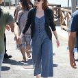 Exclusif - Emma Stone se balade à Venise en marge du 73ème festival du film (Mostra) le 1er septembre 2016.