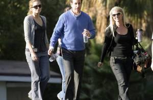 REPORTAGE PHOTOS EXCLUSIVES : Jerry Seinfeld inséparable de sa femme... et de ses copines !