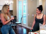 Khloé Kardashian furieusement décolletée... traite sa soeur Kim de prostituée !