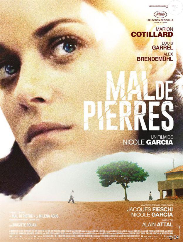 Affiche du film Mal de pierres en salles le 19 octobre 2016