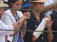 Elena d'Espagne : L'infante plâtrée et amochée à la suite d'une chute de cheval