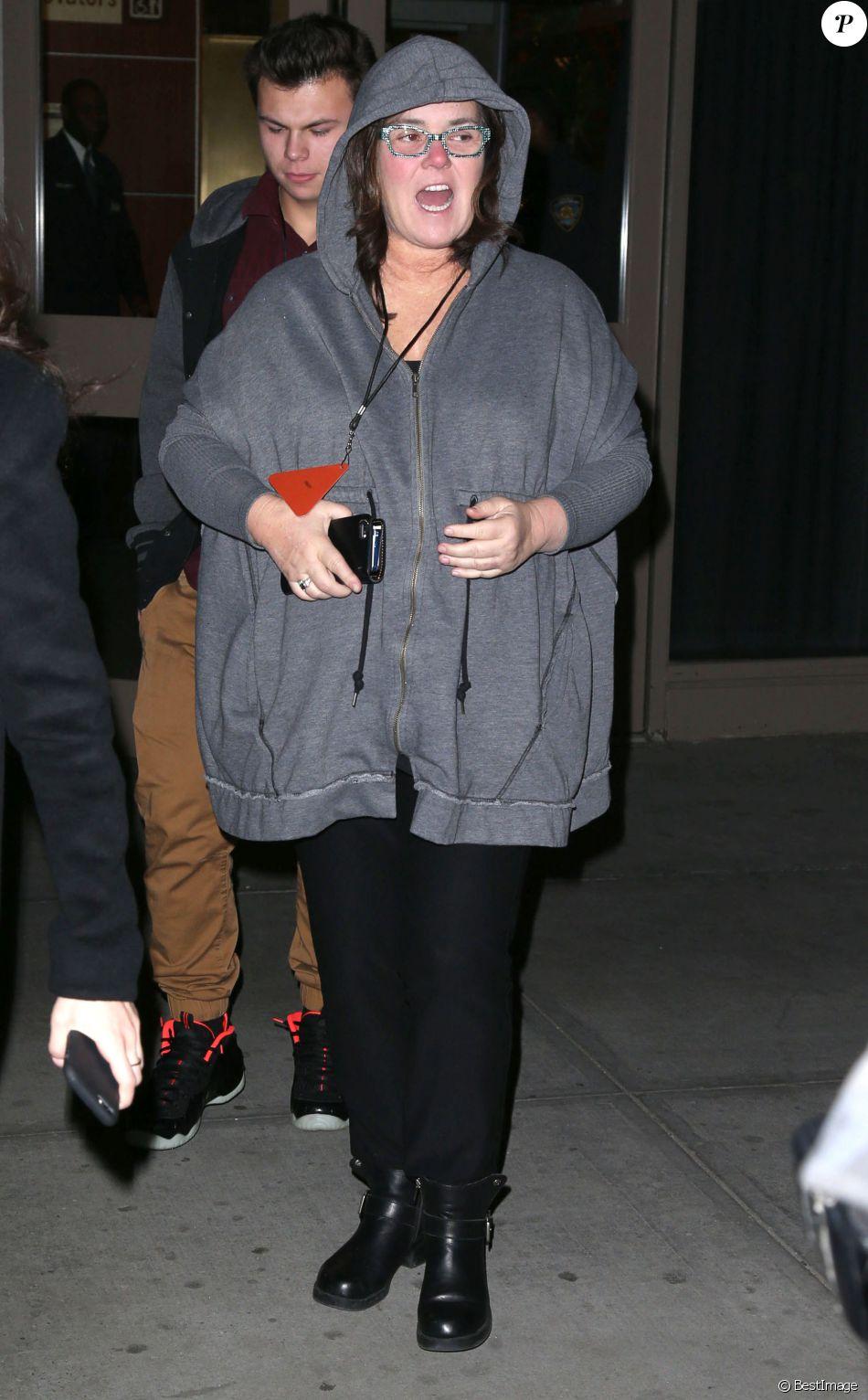 Rosie ODonnell arrive au défilé de mode Yeezy de Kanye West à New York, le 11 février 2016.