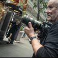 Robin Wright pose pour le Calendrier Pirelli 2017 et le photographe Peter Lindbergh.