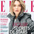 Couverture du magazine ELLE avec Léa Seydoux.