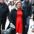 "Kelly Clarkson s'est rendue dans les studios de l'émission ""Good Morning America"" à New York. Le 3 mars 2015"