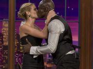 REPORTAGE PHOTOS : Heidi Klum et Seal n'en finissent plus de se... bécoter en direct !