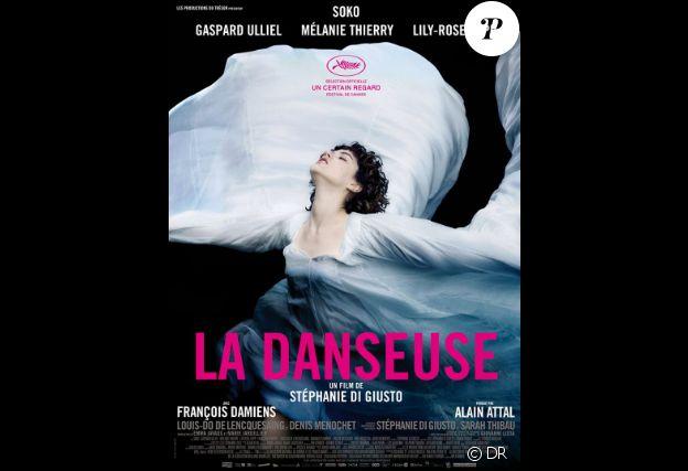 Affiche du film La Danseuse en salles le 28 septembre 2016