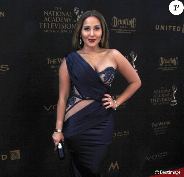 Adrienne Bailon à la soirée Daytime Emmy Awards 2016 à l'hôtel Westin Bonaventure à Los Angeles, le 1er mai 2016