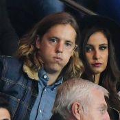 Malika Ménard et Pierre Sarkozy tendus devant un PSG triomphant