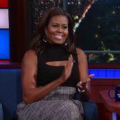 Michelle Obama : Hilarante quand elle imite Barack et se moque de lui !