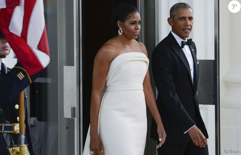 Barack obama et michelle obama la maison blanche for Barack obama a la maison blanche