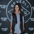 """Exclusif - Karima Charni à la soirée d'ouverture du restaurant club le """"Beverly"""", organisée par Sandra&Co à Paris, le 22 septembre 2016."""