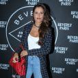 """Exclusif - Malika Menard (Miss France 2010) à la soirée d'ouverture du restaurant club le """"Beverly"""", organisée par Sandra&Co à Paris, le 22 septembre 2016."""