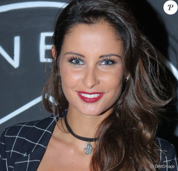 """Exclusif - Malika Menard à la soirée d'ouverture du restaurant club le """"Beverly"""", organisée par Sandra&Co à Paris, le 22 septembre 2016."""
