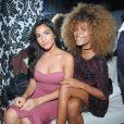 """Exclusif - Tina Kunakey (compagne de Vincent Cassel) à la soirée d'ouverture du restaurant club le """"Beverly"""", organisée par Sandra&Co à Paris, le 22 septembre 2016."""