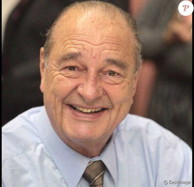 Jacques Chirac à la foire du livre de Brive, le 7 novembre 2009