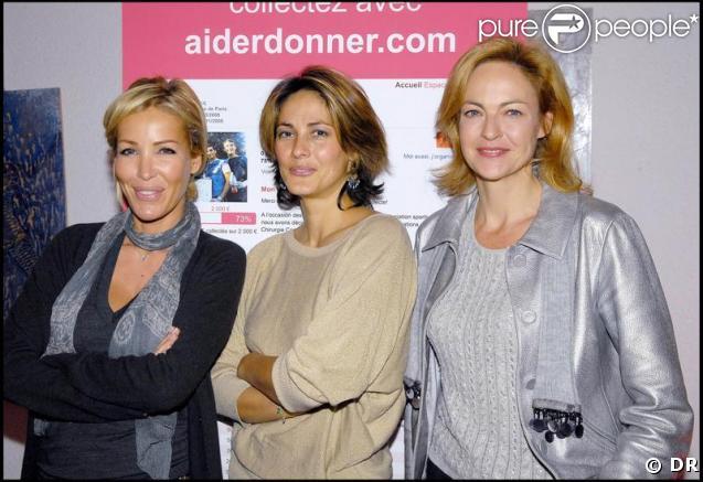 Ophélie Winter, Delphine de Turckheim et Alexandra Vandernoot