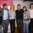 Natacha Amal, Alexandra Vandernoot , Philippe Caroit et Adeline Blondieau