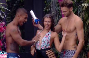Secret Story 10 : Maéva torride sous la douche avec Marvin et Bastien