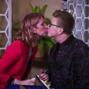 Céline Dion : La diva offre un bisou sur la bouche à un animateur !