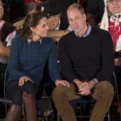 Kate Middleton et William dans la Forêt Grand Ours : Folklore et complicité...