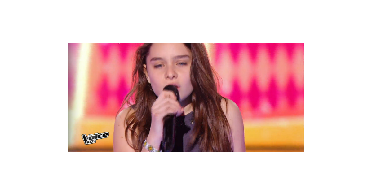 lynn dans the voice kids 3 le 1er octobre 2016 sur tf1 purepeople. Black Bedroom Furniture Sets. Home Design Ideas
