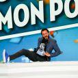 """Cyril Hanouna - Michel Polnareff participe à l'émission """"Touche pas à mon poste"""" (TPMP) à Paris, France, le 15 septembre 2016. © JLPPA/Bestimage"""