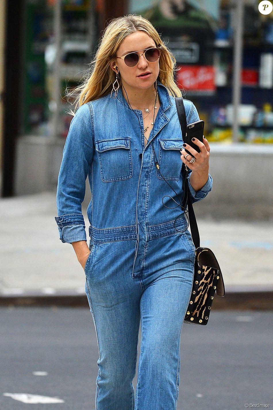 Exclusif - Kate Hudson se balade dans les rues de New York, le 28 septembre 2016