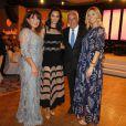 Ruth Negri, Emma Heming-Willis, Hans-Reiner et Katerina Schröder  lors de la soirée de Gala Dreamball 2016 à l'hôtel Ritz de Berlin, le 29 septembre 2016
